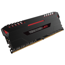 Corsair Vengeance 16GB LED (2x8GB) DDR4 2666MHz RED