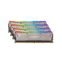 Crucial Ballistix Tactical Tracer RGB 64GB Kit (4 x 16GB) DDR4-2666 UDIMM gaming memory