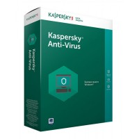 Kaspersky Anti-Virus 2017 2-Desktop 1 Year Box