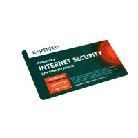 Kaspersky Internet Security 2 Multi-Device 1 Year Card