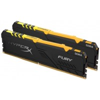 Kingston HyperX Fury RGB 16GB (2 x 8GB, DDR4 2666MHz)