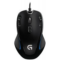 Logitech G300S Prodigy Gaming Mouse Black