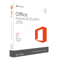 Microsoft Office Mac Home and Student 2016