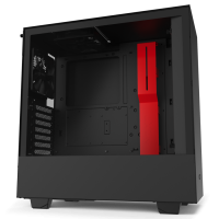 NZXT H510 Black/Red (Side Window)