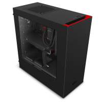 NZXT S340 Black/Red