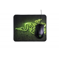 Razer Abyssus Mouse and Razer Goliathus (Speed) Mat Bundle