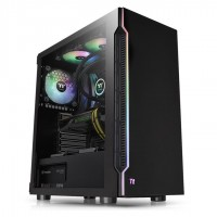 Thermaltake H200 Black Tempered Glass RGB