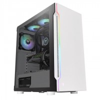 Thermaltake H200 White Tempered Glass RGB