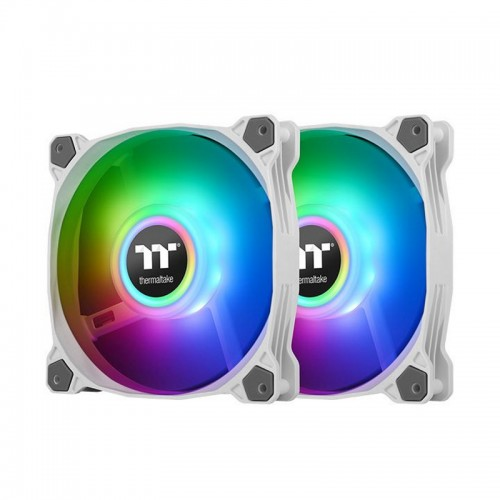 Thermaltake Pure Duo 12 ARGB Sync White (2 Pack Fans)