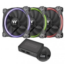 Thermaltake Riing 14 LED RGB 256 Colors Fan (3 fan pack)
