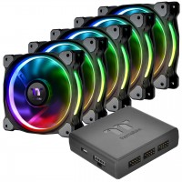 Thermaltake Riing Plus 12 RGB Radiator Fan TT Premium Edition (5 Pack)
