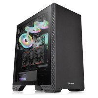 Thermaltake S300 Tempered Glass Black (Window)