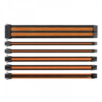 Thermaltake Sleeved Сable Black/Orange