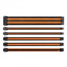 Thermaltake Sleeved Сable Black/Orange