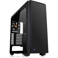 Thermaltake Versa C23 Tempered Glass RGB Edition Black