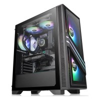 Thermaltake Versa T35 Tempered Glass RGB Black (Window)