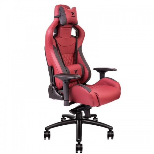 Thermaltake X Fit Real Leather Burgundy Red